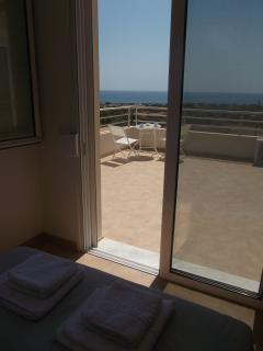 View of Veranda from Bedroom 1
