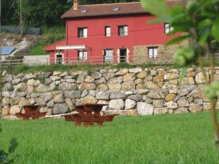 La casa vista desde el Area.