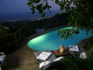 Pool with great views over Marbella & the cost of Africa