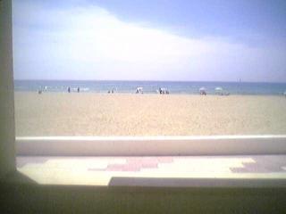 Piso frente al mar en la playa