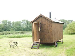 The Shepherds Hut at North Farm Cottages, Aylsham
