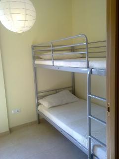 Habitación 2 con litera