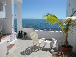 Enjoy crystal clear waters off your private patio!