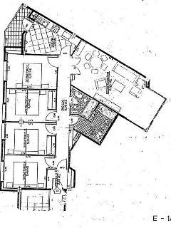 Plano distribución casa