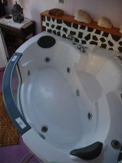Bañera de Hidromasaje de dos plazas