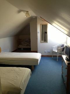 Bedroom 3 - Upstairs attic room (sleeps 2)