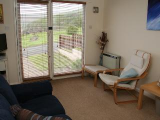 Living room enjoying uninterrupted views of Plymouth Sound and Plymouth