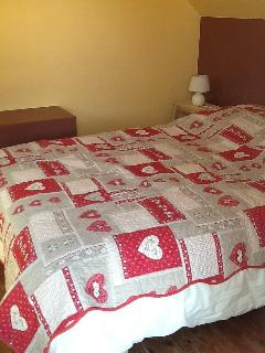 Chambre de un lit double
