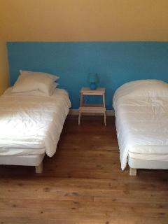 Chambre de deux lits simples