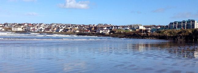 View of the Strand, Portstewart (approximately 1 mile from the apartment)