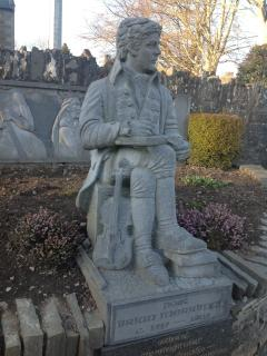 Brian Merriman, a local 18th century Poet, remembered in the village
