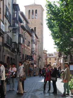 Calle Santó tomé, ubicación