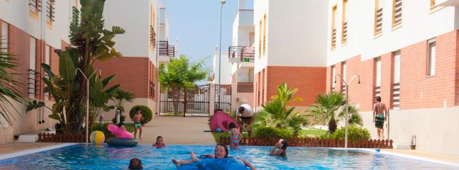 One of 4 accessible swimming pools, and all perfectly safe for children