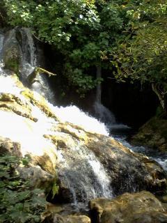 Las Cascadas del Hueznar, monumento natural.
