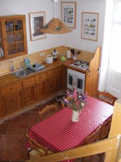 Kitchen - original quarry tiles