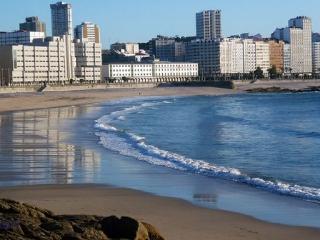 piso lujo centro coruña playa, La Corogne