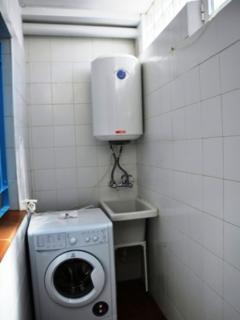 Patio lavadora