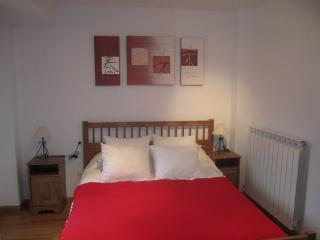 Dormitorio con preciosas vistas al valle.