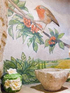 dipinto interno cucina