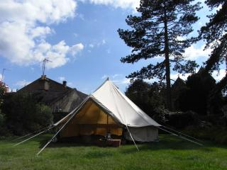 Bath Bell Tents - Isabell 5m Canvas Bell Tent - Sleep 6 Maximum