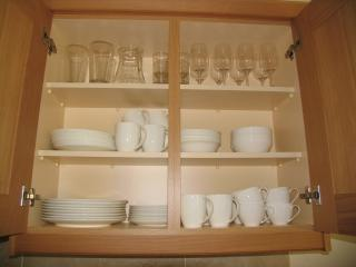 China cups, saucers, plates, mugs in addition 'everyday ' crockery