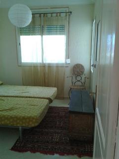 Detalle de una de las habitaciones.