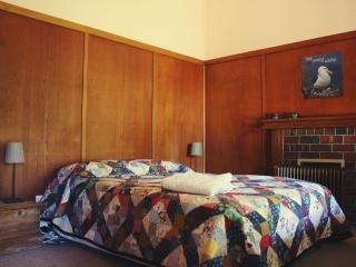 The second double room, facing West (perfect for a sleep in!).