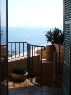 view from bedroom 1 - top terrace