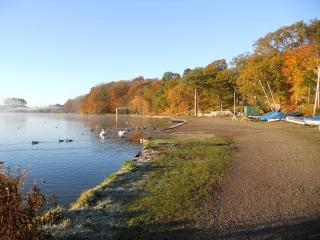 Take an Autumn stroll around the Tarn and feed the ducks.