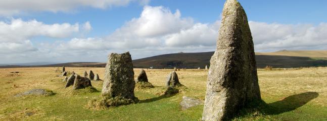 Dartmoor a walkers or riders paradise