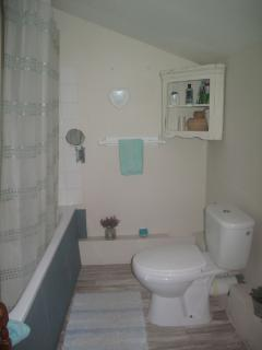 Family bathroom on first floor.
