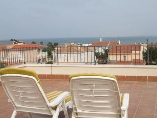 Vistas al mar cerca de PortAventura, L'Ampolla