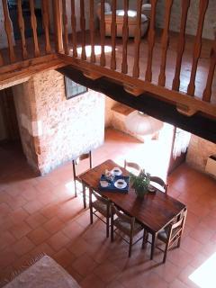 View from the mezzanine floor