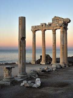 The beautiful Apollo temple