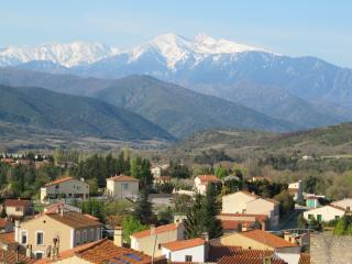View from the house towards Canigou