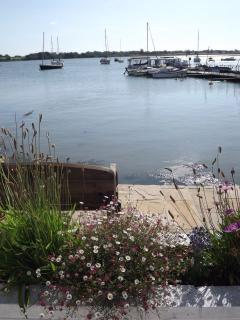 Our own quay where you can fish and secure a small boat (or use ours - rowing boat available)