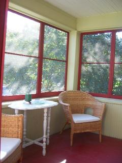 Relaxing Screened in Front Porch...a Perfect Retreat.