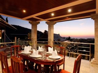 Sunset View from Outdoor Dinning Terrace