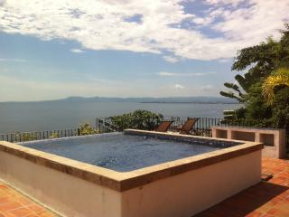 Upper deck stunning 180* views and in the winter time watch the whales breach right from
