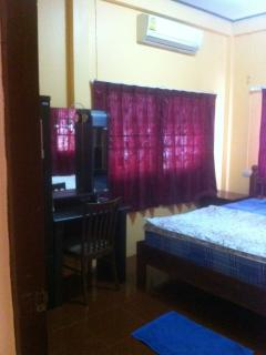 All rooms have aircon units