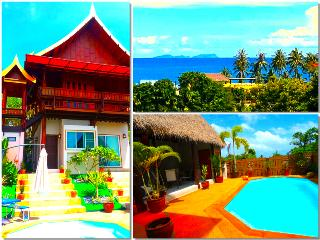 Villa Ayutthaya at Golden Pool Villas - Sea Views - 5 mins walk to Kantiang Bay!