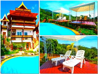 Villa Siam Lanna at Golden Pool Villas - Sea Views -5 mins walk to Kantiang Bay!, Ko Lanta