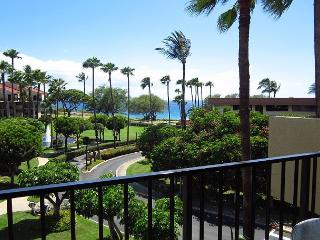 Kamaole Sands #1-406: 2B/2Ba - Front Row, Ocean View, Great Rates!, Kihei