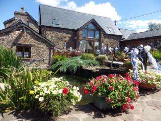 Oak cottage at Pentre farm Usk country cottages