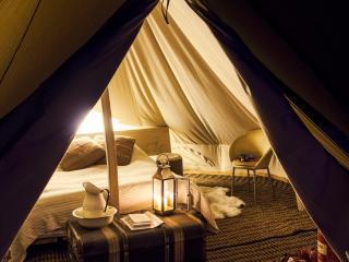 Fipple interior at Crafty Camping