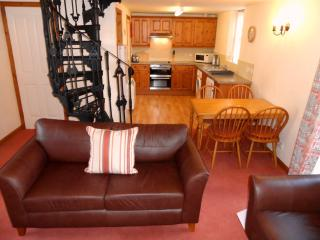 Byre living/dining/kitchen area