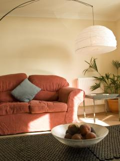 Cosy, comfy lounge area