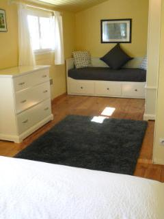 Sofa in double room