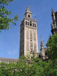 GIRALDA TOWER. 1 minute walk.