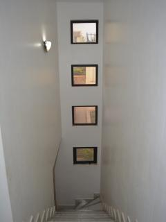 Stairs to the upper bedrooms